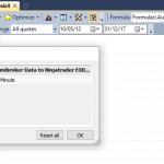 Export Amibroker Database to Ninjatrader EOD or 1min ASCII format