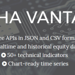 Alphavantage – Alternative to Yahoo Finance API