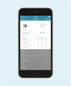 Invoices  Estimates  Quotes and Time tracking with Billings Pro on     Send an Invoice On your iPhone