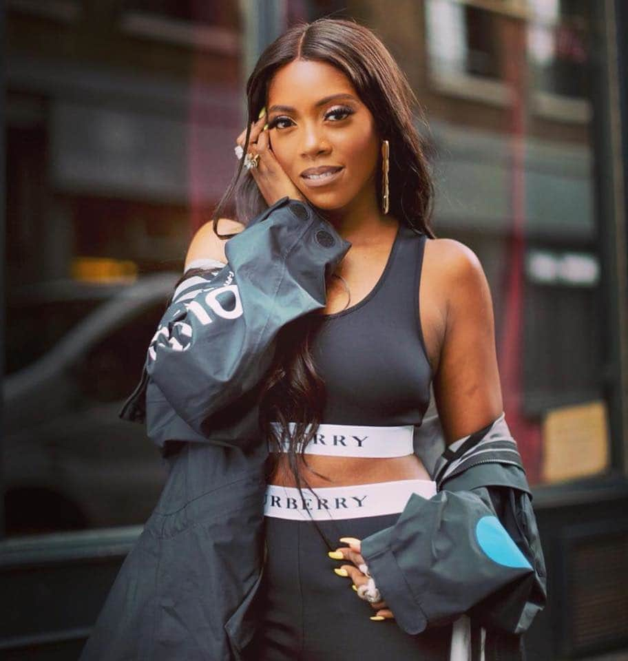 Who is Tiwa Savage referring to on Kizz Daniel's
