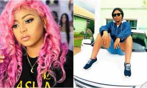 Popular Nollywood actress Regina Daniels has acquired another car, a G.Wagon.