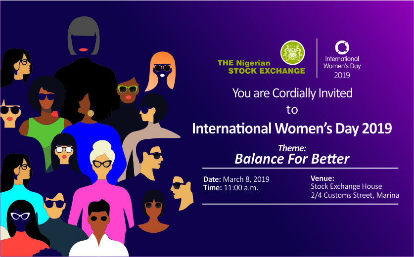 NSE Commemorates 2019 International Women's Day