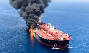 Two tankers attacked