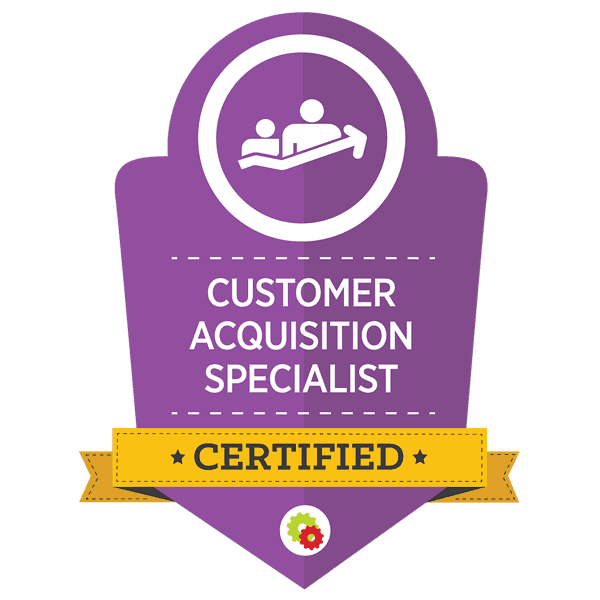 Digital Marketer Certified Customer Acquisition Specialist