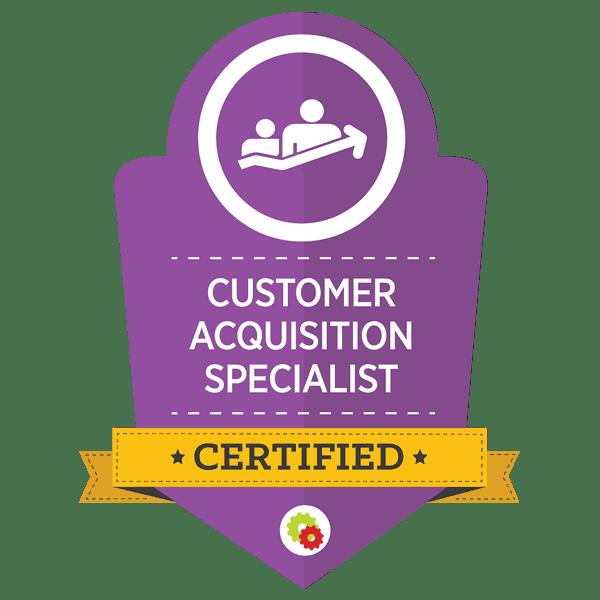 Digital Marketer Certified Customer Acquisition Specialist