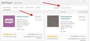 Instal WooCommerce Plugin