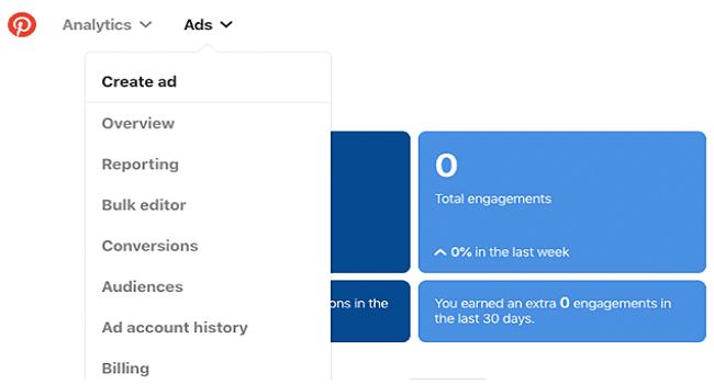 Pinterest Ads Manager
