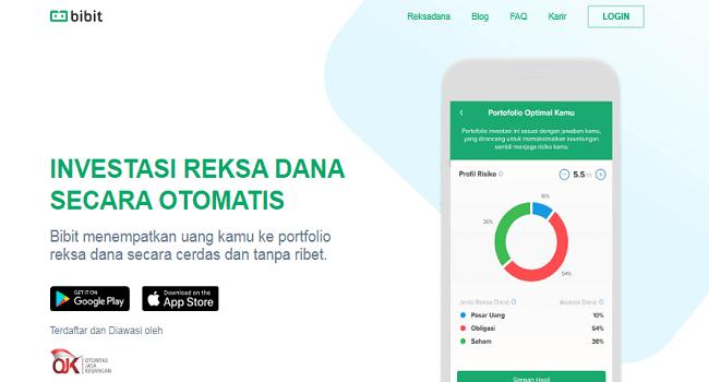 Bibit, Aplikasi Investasi yang Terdaftar di OJK