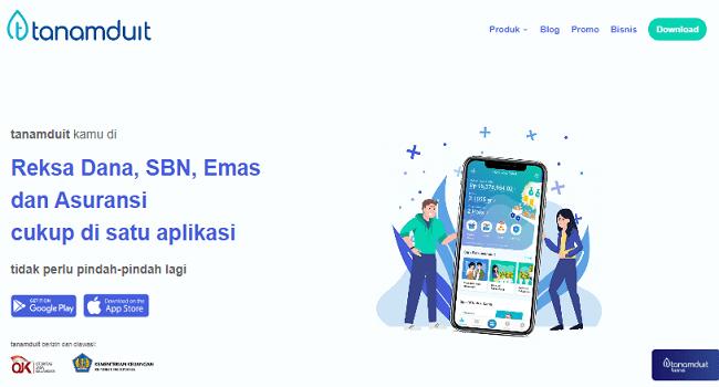 Tanamduit, Aplikasi Investasi Online Terbaik