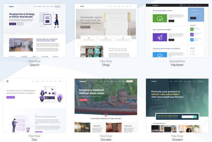 GeneratePress - Library