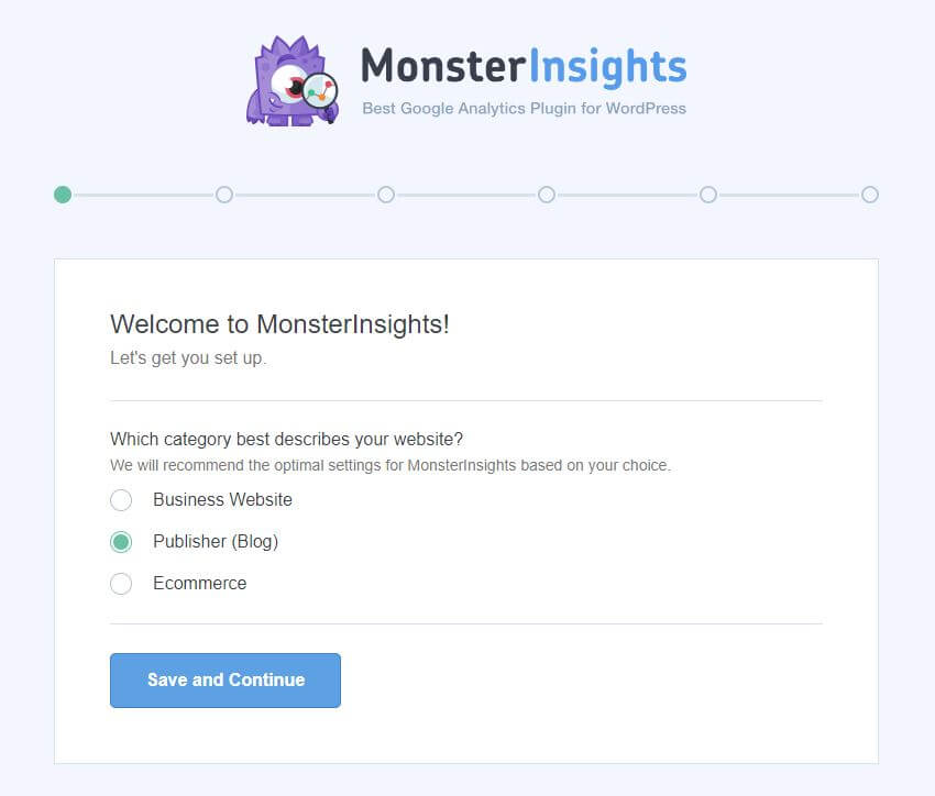 Monsterinsight - Welcome