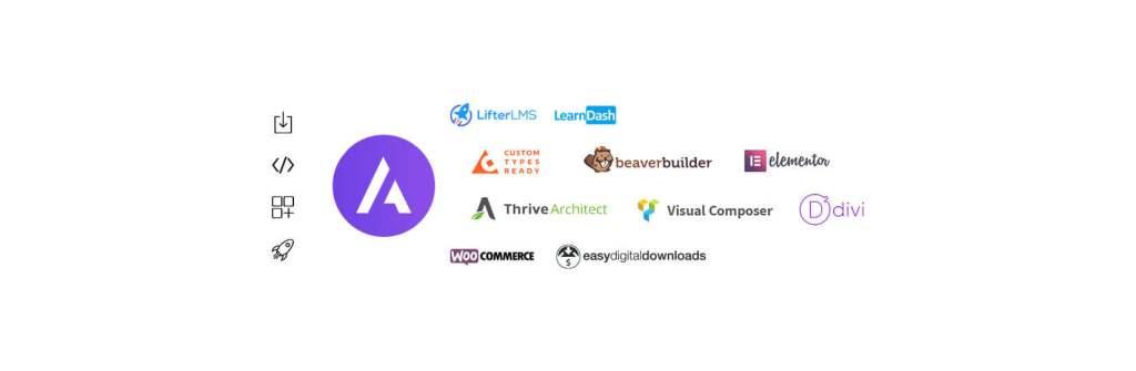 Astra Theme WordPress - Integrations