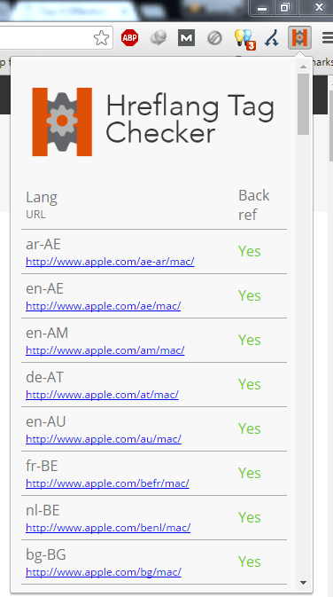Hreflang Tag Checker Tool