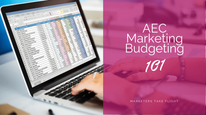 AEC Marketing Budgeting 101