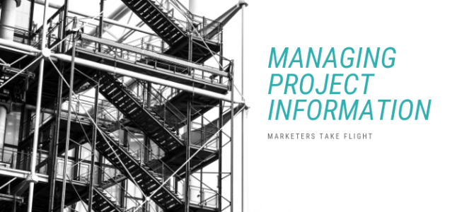 Managing Project Information