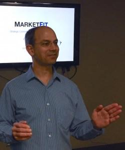 Image of Alan Albert presenting