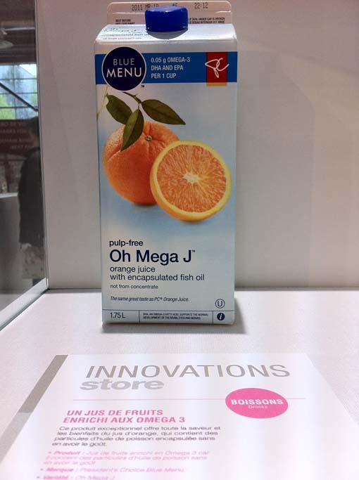Orange Jus Omega 3