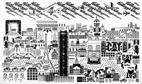 Les Monuments de Paris en Logos