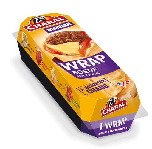 Wrap Boeuf Charal