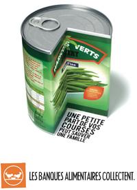 camapgne affichage banques alimentaires