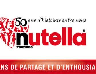 Un mois, une marque : Nutella souffle ses 50 bougies (cadeau inside)