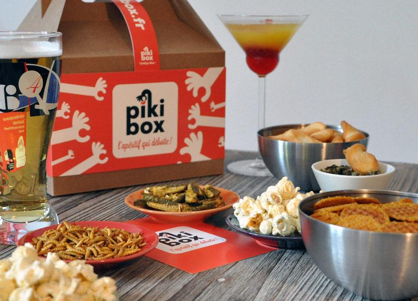 La boutique en ligne Pikibox propose trois tailles de box pour surprendre de 2 à 8 convives avec des amuses bouches déjantés.