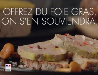 Foie gras is back on TV