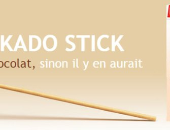 Mikado Stick: sans chocolat, 100% biscuit