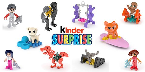 Kinder mise sur 2 univers pour le lancement : Planet Jungle et Sweet Puppies.