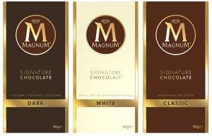 Tablettes chocolat Magnum