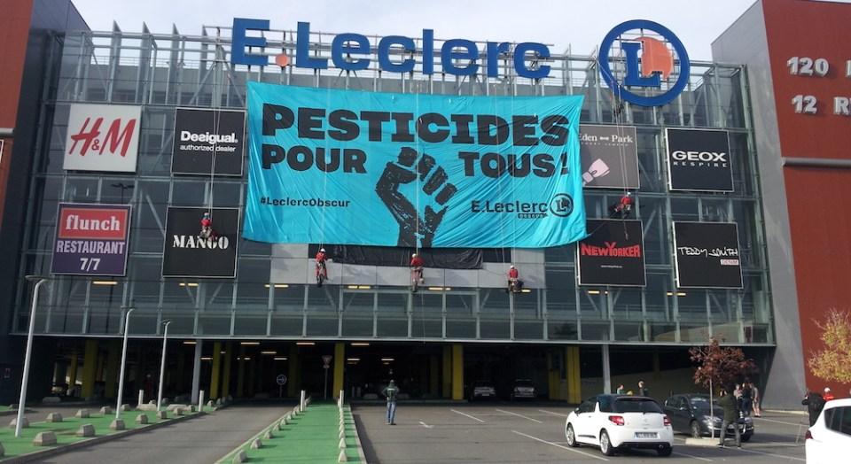 Greenpeace Leclerc