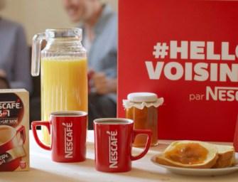 Nescafé facilite la rencontre avec les voisins