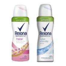 Le déodorant compressé Rexona