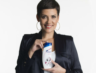 Head & Shoulders s'offre Cristina Cordula