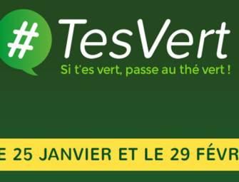 Si #Tesvert, passe au thé vert avec Lipton