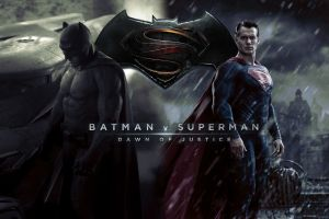 L'affiche du film Superman V Batman:Down of Justice