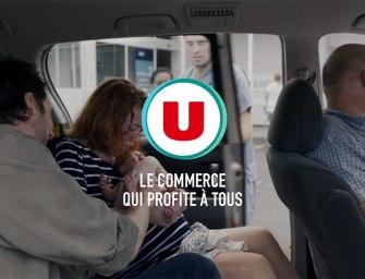 Sacrée surprise pour la nouvelle campagne TV des magasins U