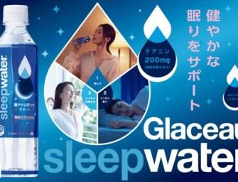 Glaceau sleepwater : une eau qui vous fait dormir !