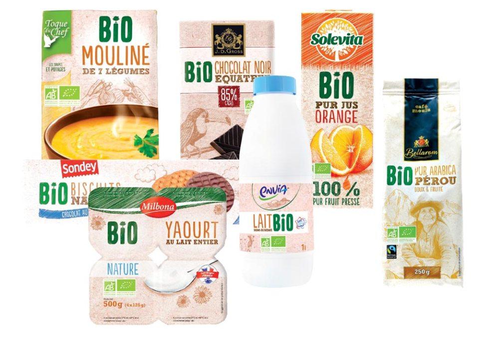 Lidl pérennise une offre bio d'une quarantaine de références. Essentiellement de l'épicerie. Les marques propres du distributeur reste prépondérantes.