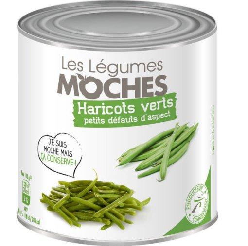 110 t de légumes présentants des défauts seront valorisés dans la gamme de conserves Moches d'Intermarché pendant une opération événementielle.