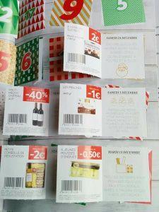 Au centre de son magazine Deluxe, Lidl a intégrer un calendrier de l'Avent qui permet de profiter de réductions en plus sur les produits du prospectus.