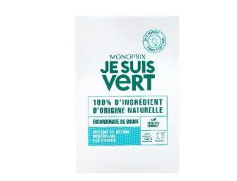 «Je suis Vert», les nouveaux produits d'entretien écolos de Monoprix
