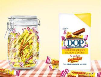 Carambar : le nouvel parfum de gel douche DOP