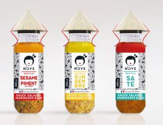 N'OYE, les nouvelles sauces en exclusivité chez Monoprix