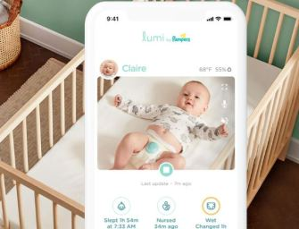 Lumi connecte les couches Pampers