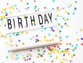 Les marques fêtent leur anniversaire