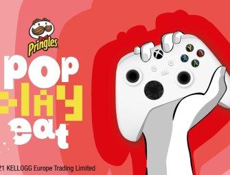 Pringles à fond sur le gaming