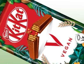 En 2021, KitKat se lance sur le végétal