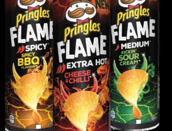 Pringles enflamme l'apéro avec ses nouvelles tuiles épicées !