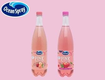 Ocean Spray voit la vie en roseavec Fines Bulles PINK Cranberry